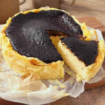 オレンジ香る バスクチーズケーキ