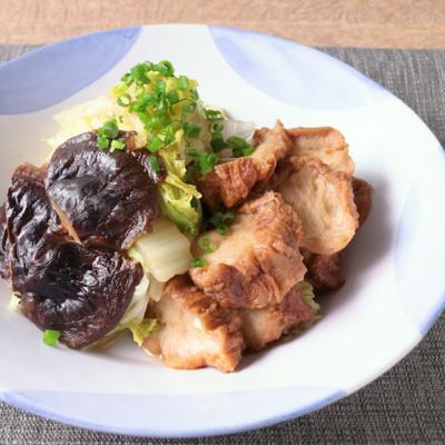 だしがおいしい 白菜とあぶら麩の旨煮