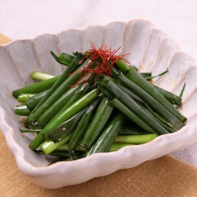 青ねぎのピリ辛サラダ