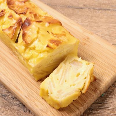 クリームチーズとりんごのガトーインビジブル