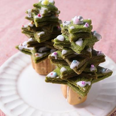 クリスマスツリークッキー