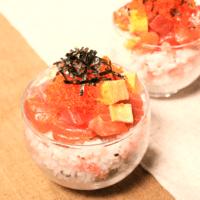 カップで可愛く!ミニちらし寿司