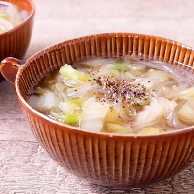 簡単 白菜と春雨のスープ