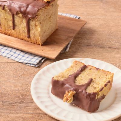 バナナチョコパウンドケーキ