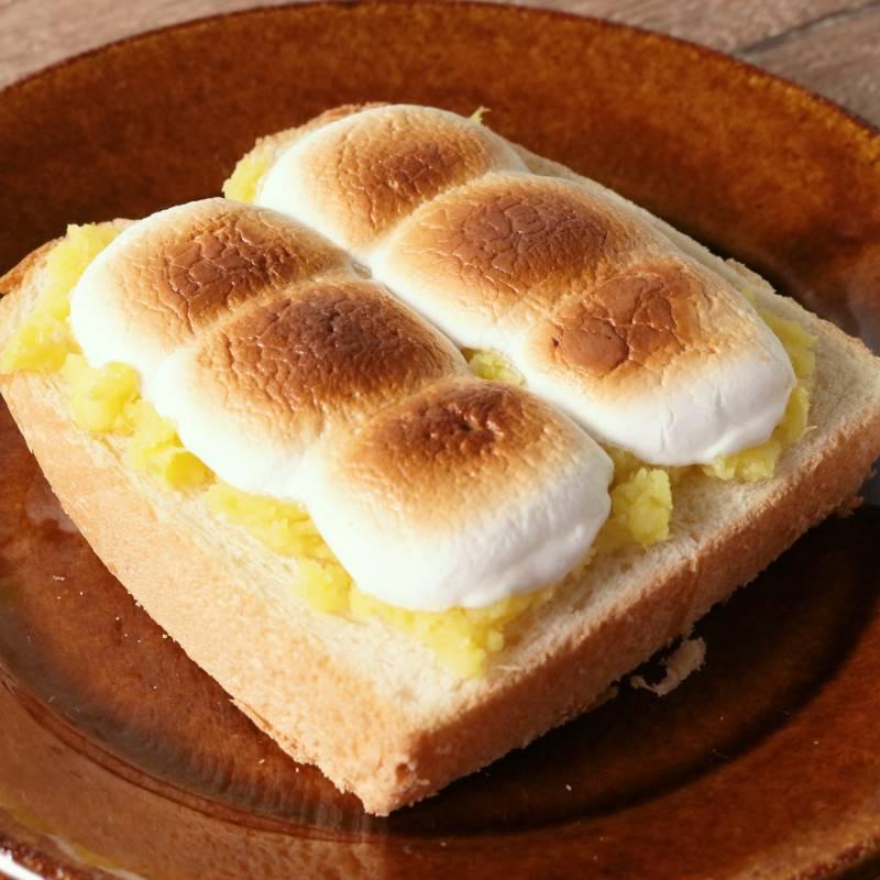 食パン マシュマロ