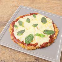 マルゲリータ風 えのきのとろーりピザ