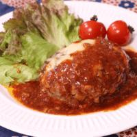 シンプルに美味しく簡単!ゴボウチーズハンバーグ