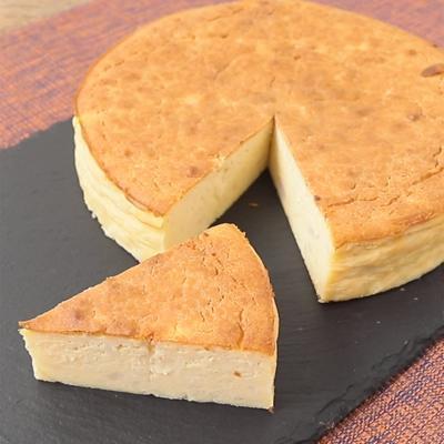 タロイモのチーズケーキ