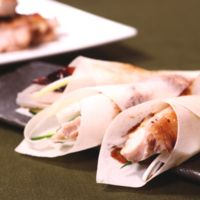 鶏もも肉の北京ダック風グリル