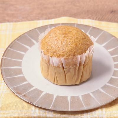 ふんわりコク甘黒糖蒸しパン