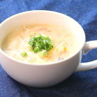 豆乳と白菜のクリームスープ