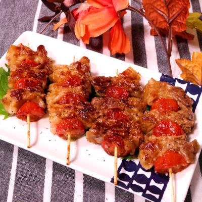 お酒が進む!豚バラとトマト串