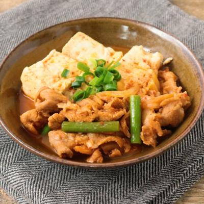 ピリ辛 豚キム肉豆腐