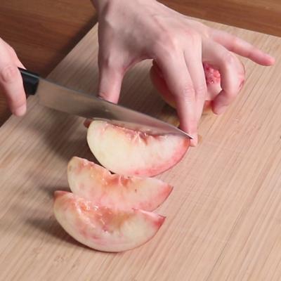 桃の切り方