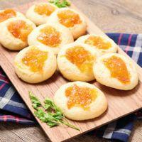 見た目も可愛い しっとり金柑ジャムクッキー