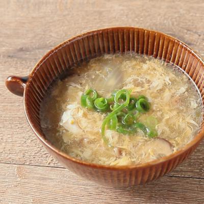 しいたけの中華スープ