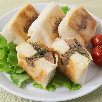 パリふわ食感 高野豆腐のジューシー春巻き