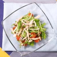 しめじと水菜のシャキシャキマリネ