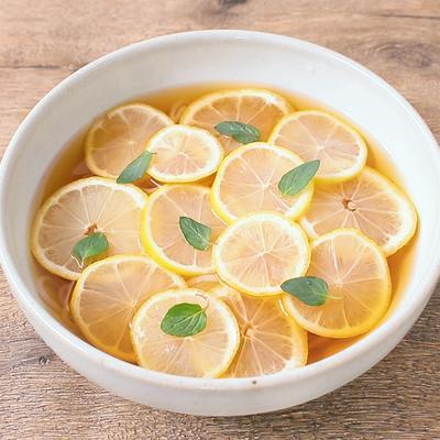 ひんやり レモンの冷麺