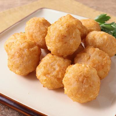 明太チーズのハッシュドポテト