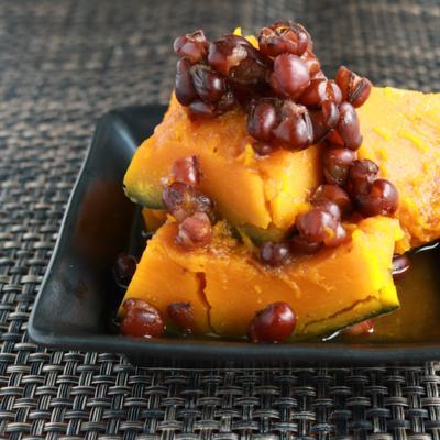 めんつゆで味付け かぼちゃのいとこ煮
