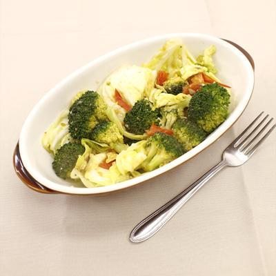 簡単おかず!ごろごろ野菜のアーリオオーリオ
