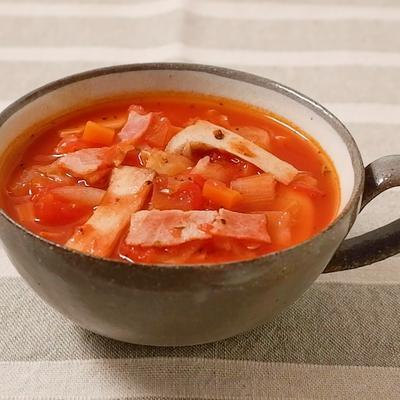 ハーブソルトでアレンジ 脂肪燃焼スープ