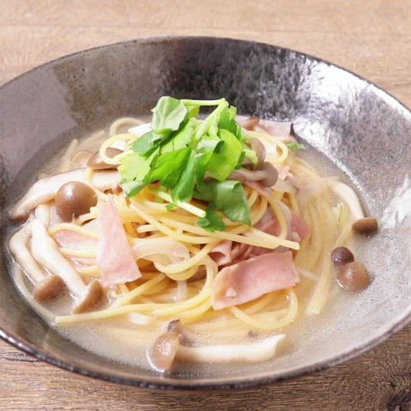 作り方 スープ パスタ