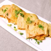 キムチモッツァレラチーズのきつねサンド
