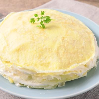 チーズクリームミルクレープ