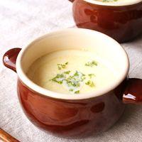 フレッシュコーンの つぶつぶ豆乳スープ