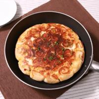 フライパンで焼ける ハムチーズちぎりパン