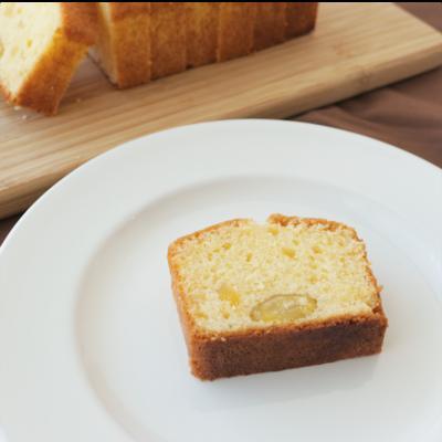 簡単 栗のパウンドケーキ