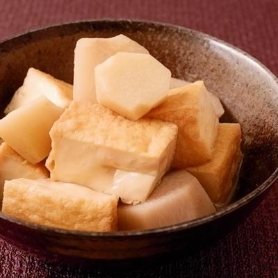 めんつゆで簡単 厚揚げと里芋の煮物