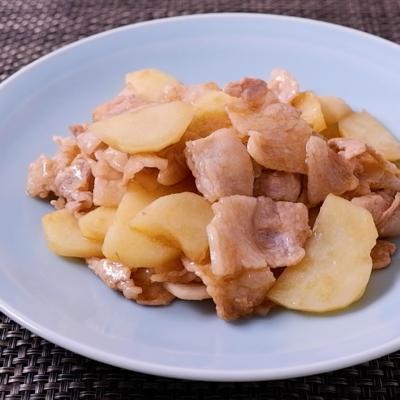 豚バラ肉とじゃがいものオイスター炒め