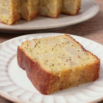 角切りりんご入り紅茶のパウンドケーキ