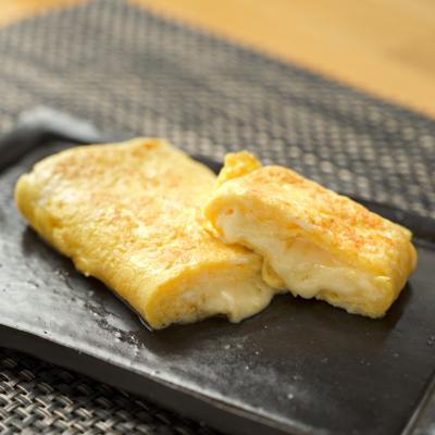 【野永シェフ】チーズだし巻き玉子