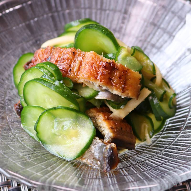 鰻ときゅうりの酢の物 鰻ざく レシピ・作り方