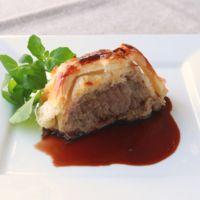 牛肉のパイ包み バルサミコソース