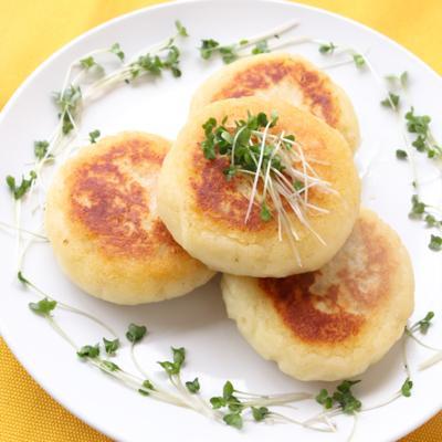 明太子チーズのじゃがいもお焼き