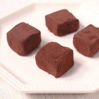 とろける美味しさ、甘い生チョコ