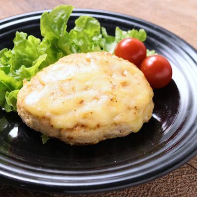 えのきとおからでボリュームアップ 鶏むね肉のチーズハンバーグ