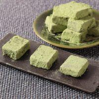 豆腐で簡単 抹茶生チョコ