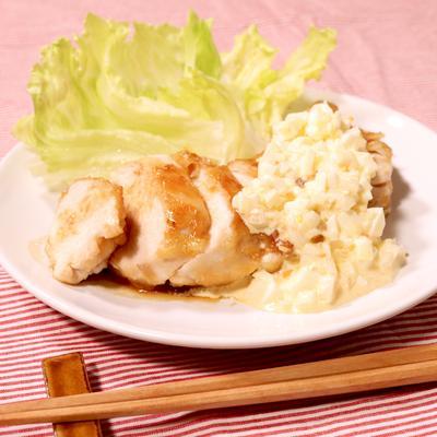 鶏むね肉のチキン南蛮風ソテー