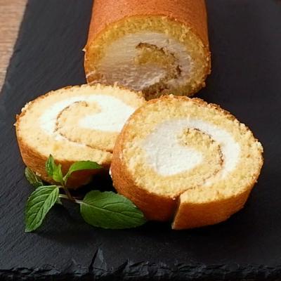 グルテンフリー米粉のロールケーキ