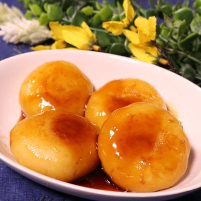 みたらし味の芋もち