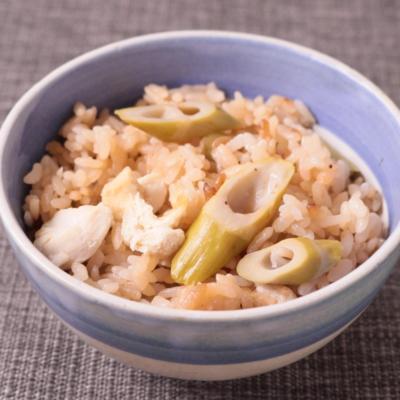 四方竹の炊き込みご飯