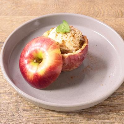 レンジ 焼き りんご