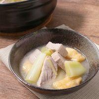 白味噌で ねぎま鍋