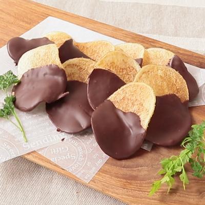 チョコのポテトチップス